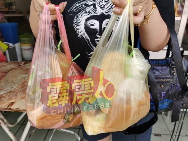 全国大封锁顾客特地打包爪哇面回家食用。