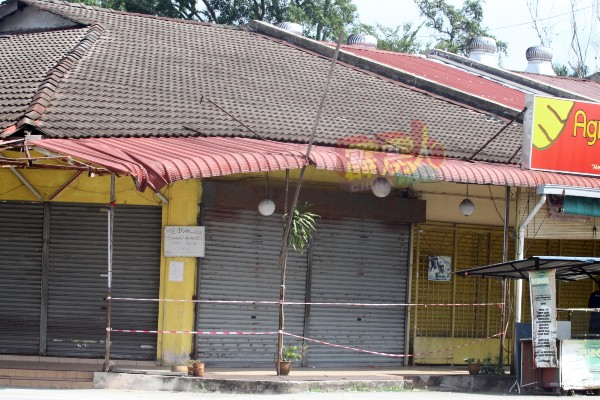 位于强管区内的商店,周二也都不能开业。