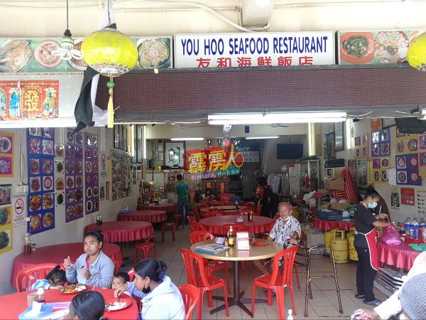 已开放堂食的餐馆,在严守标准作业程序下营业。